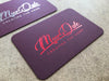 Red Foil Business Cards