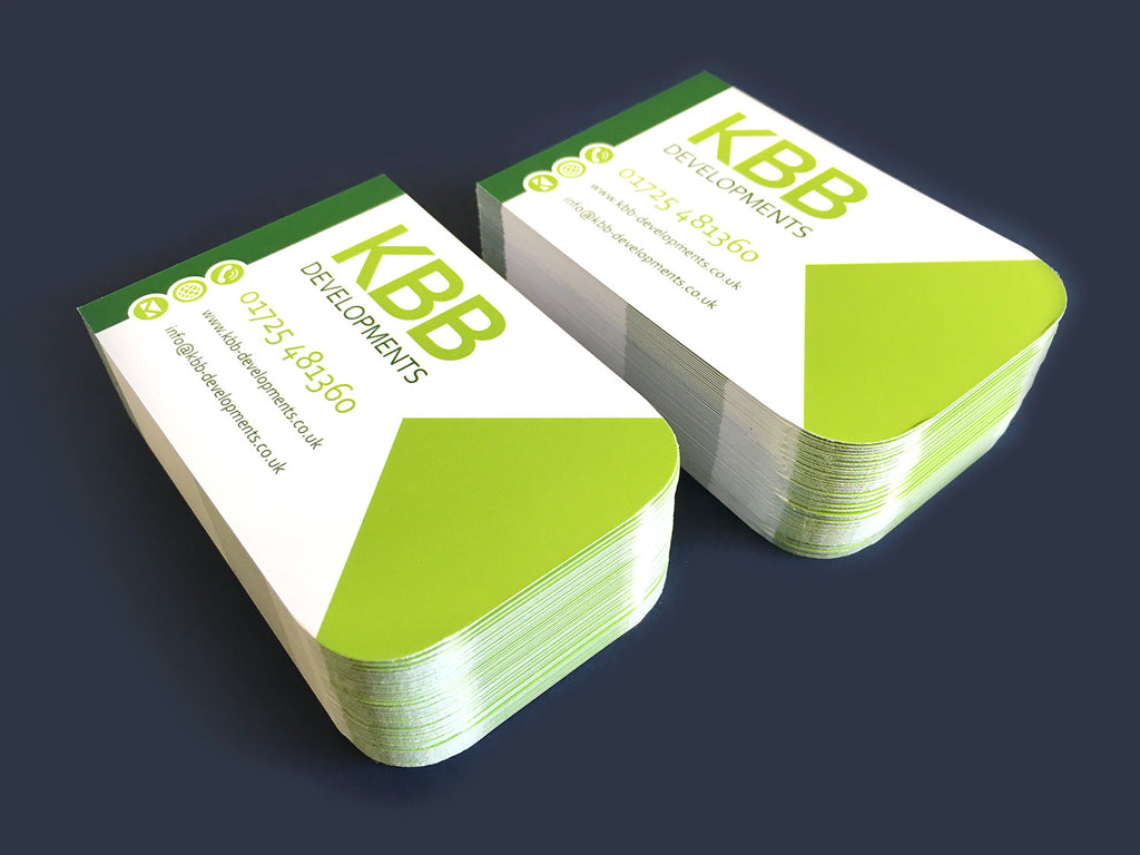 400gsm matt laminated shaped the business card store bristol round corner business cards reheart Choice Image