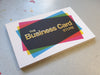 Scodix Foil Business Cards