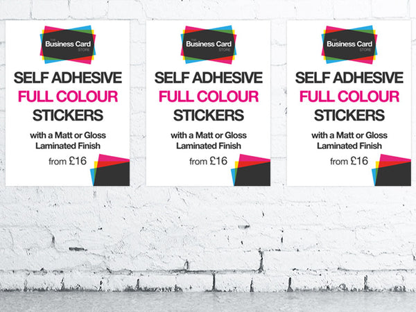 Self Adhesive Posters (A3 to A0)
