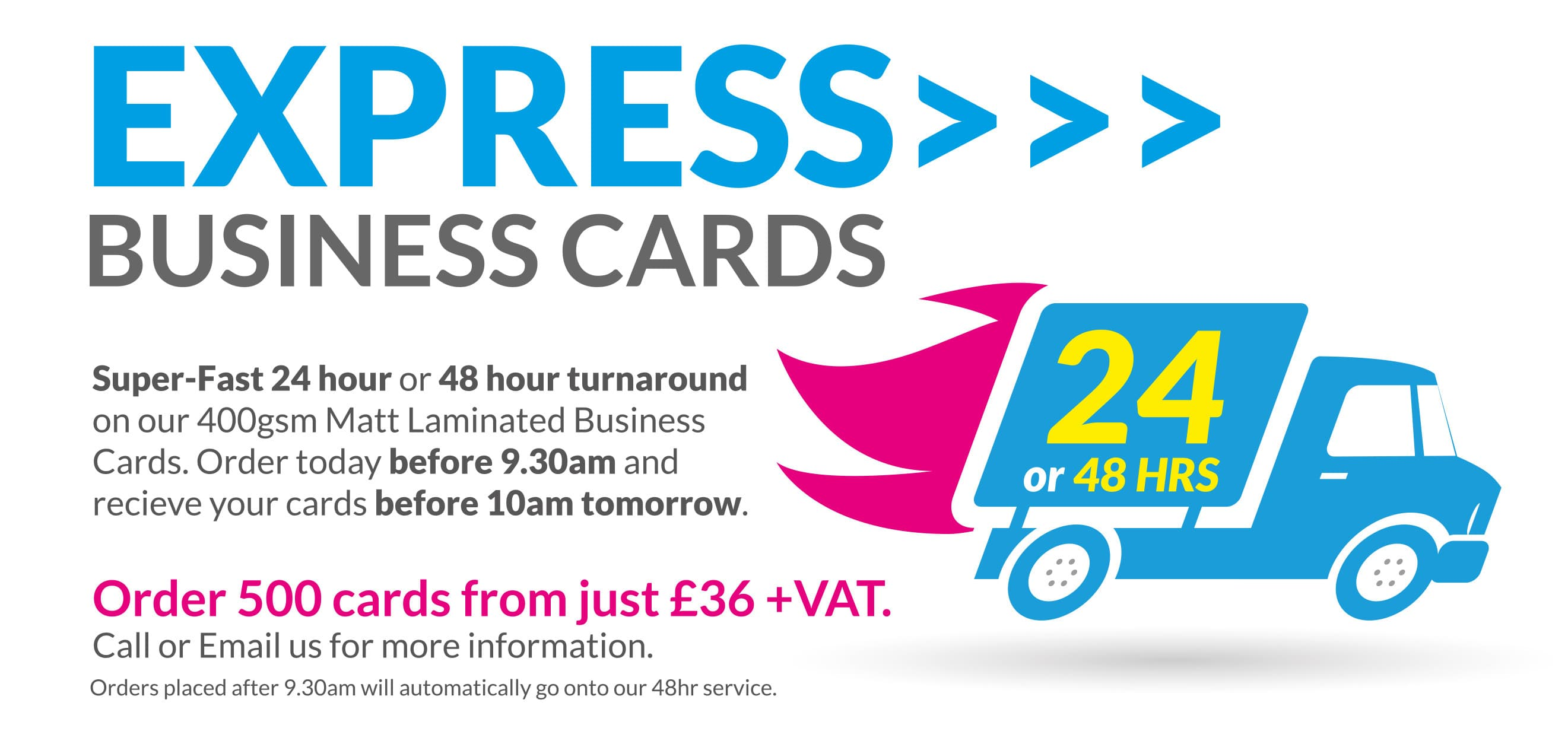 Bespoke Business Card Design and High Quality Printing Service