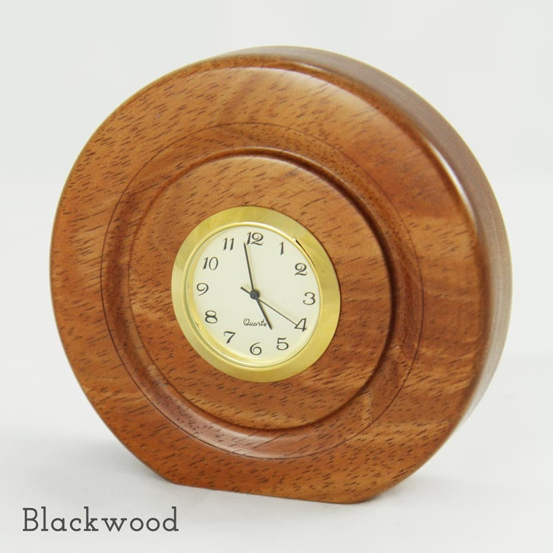Lacquered Wooden Clock