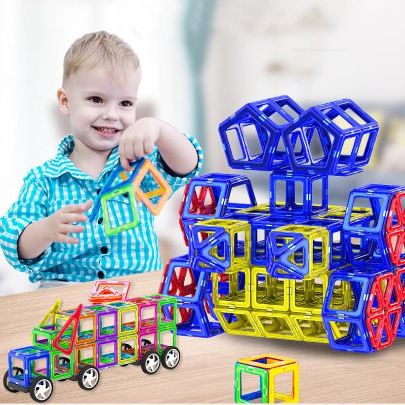 Magnetic Building Blocks Educational Toy