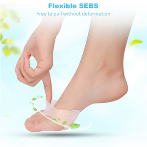 Soft Honeycomb Forefoot Pain Reliever Gel Pads
