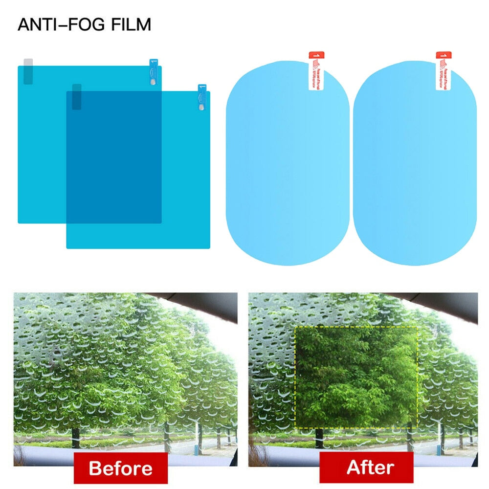 Anti fog protection film