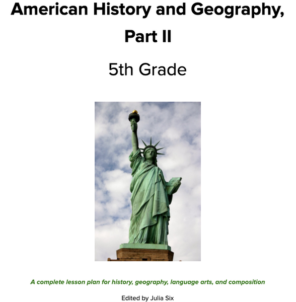 American History and Geography, Part II