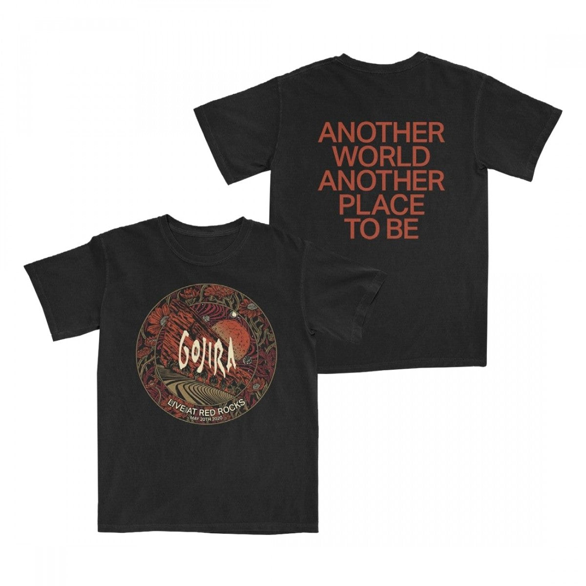 LIVE AT RED ROCKS T-SHIRT