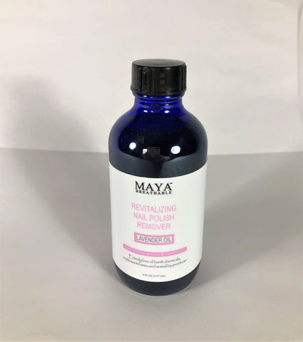 Natural Nail Polish Remover - Lavender (6 FL OZ)