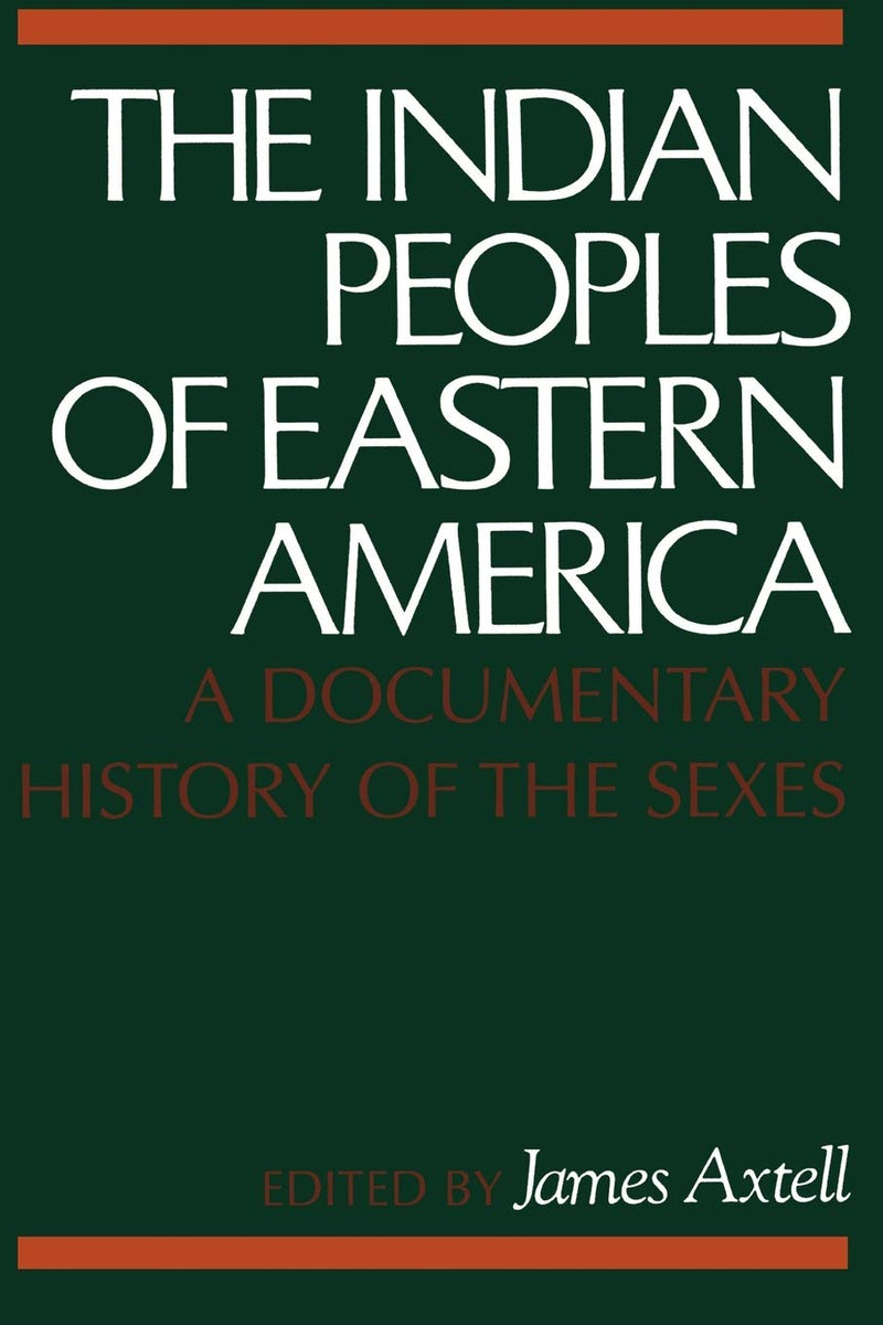 The Indian Peoples of Eastern America