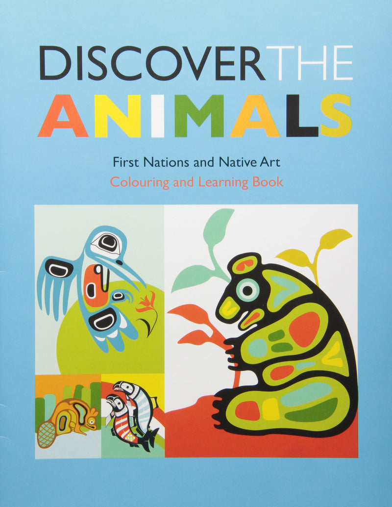 Discover the Animals:FN Art Colouring Book