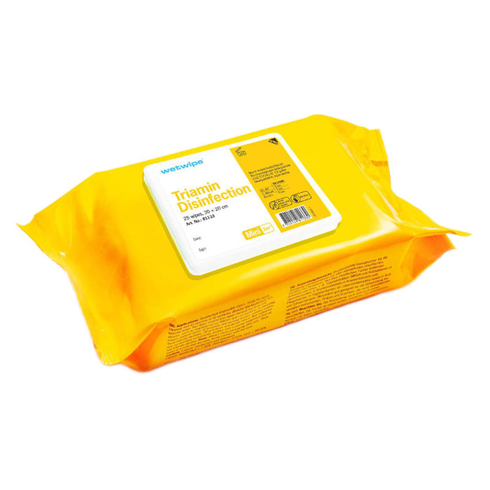 Wet Wipe Triamin Disinfektion engangsklude, 30×20 cm