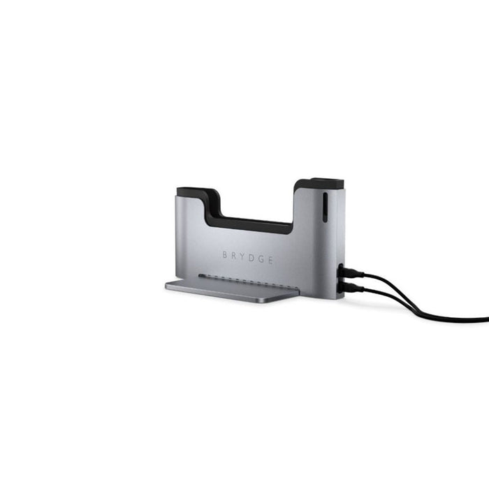 Brydge Vertical Dock til Macbook Air 13″, Space Grey