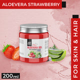 AE Naturals Pure Aloevera Gel With Strawberry Extracts 200ml