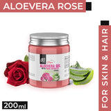 AE Naturals Pure Aloevera Gel With Rose Extracts 200ml