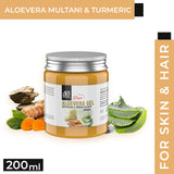 AE Naturals Pure Aloevera Gel With Mutani Mitti And Turmeric Extract 200ml
