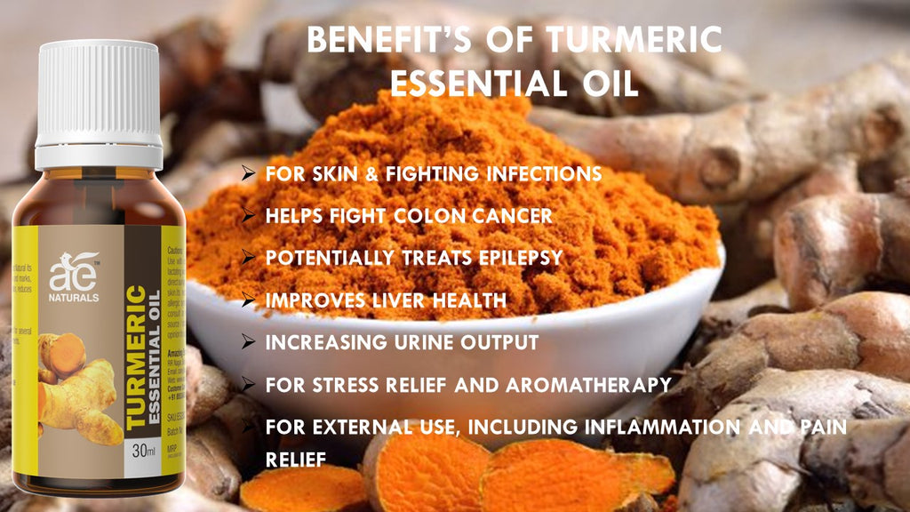 AE Naturals Turmeric Essential Oil 30ml