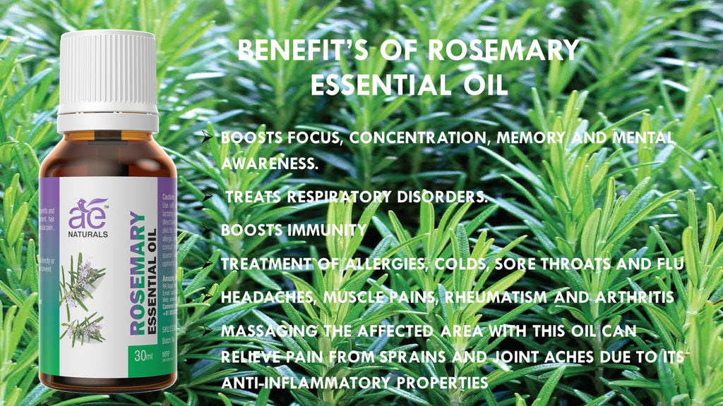 AE Naturals Rosemary Essential Oil Premium Quality 30ml