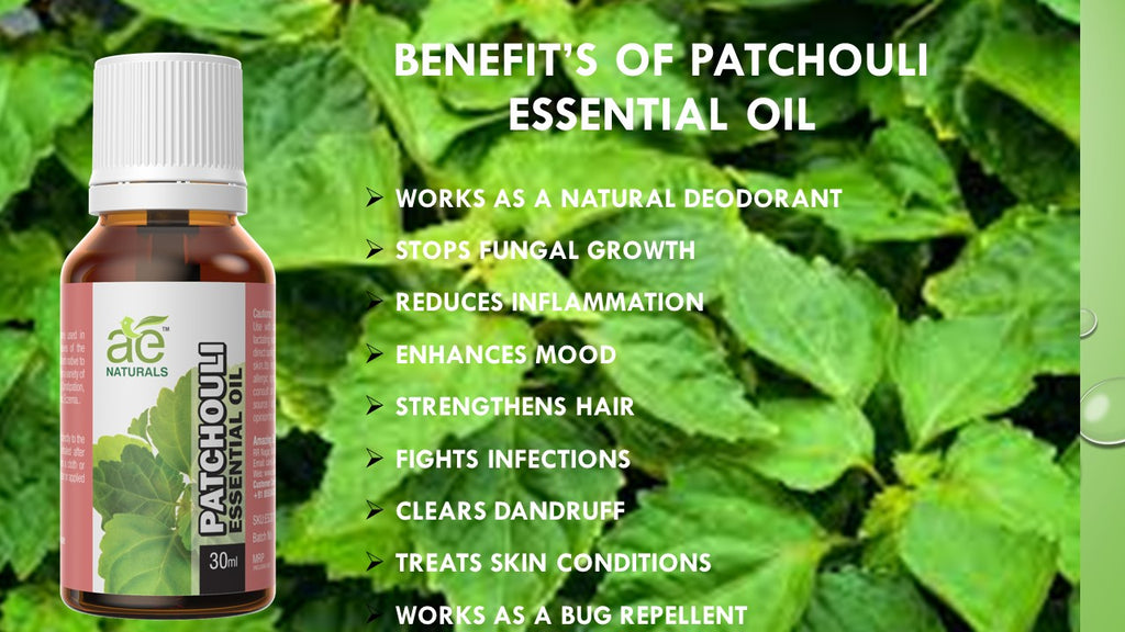AE Naturals Patchouli Essential Oil 30ml