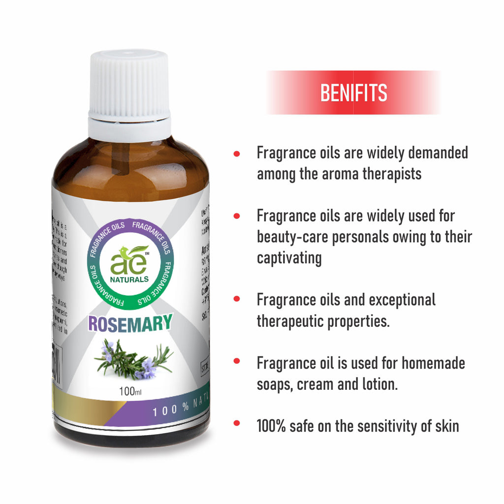 AE Naturals Rosemary Fragrance Oil For Hand Made Soaps & cosmetics  100ml