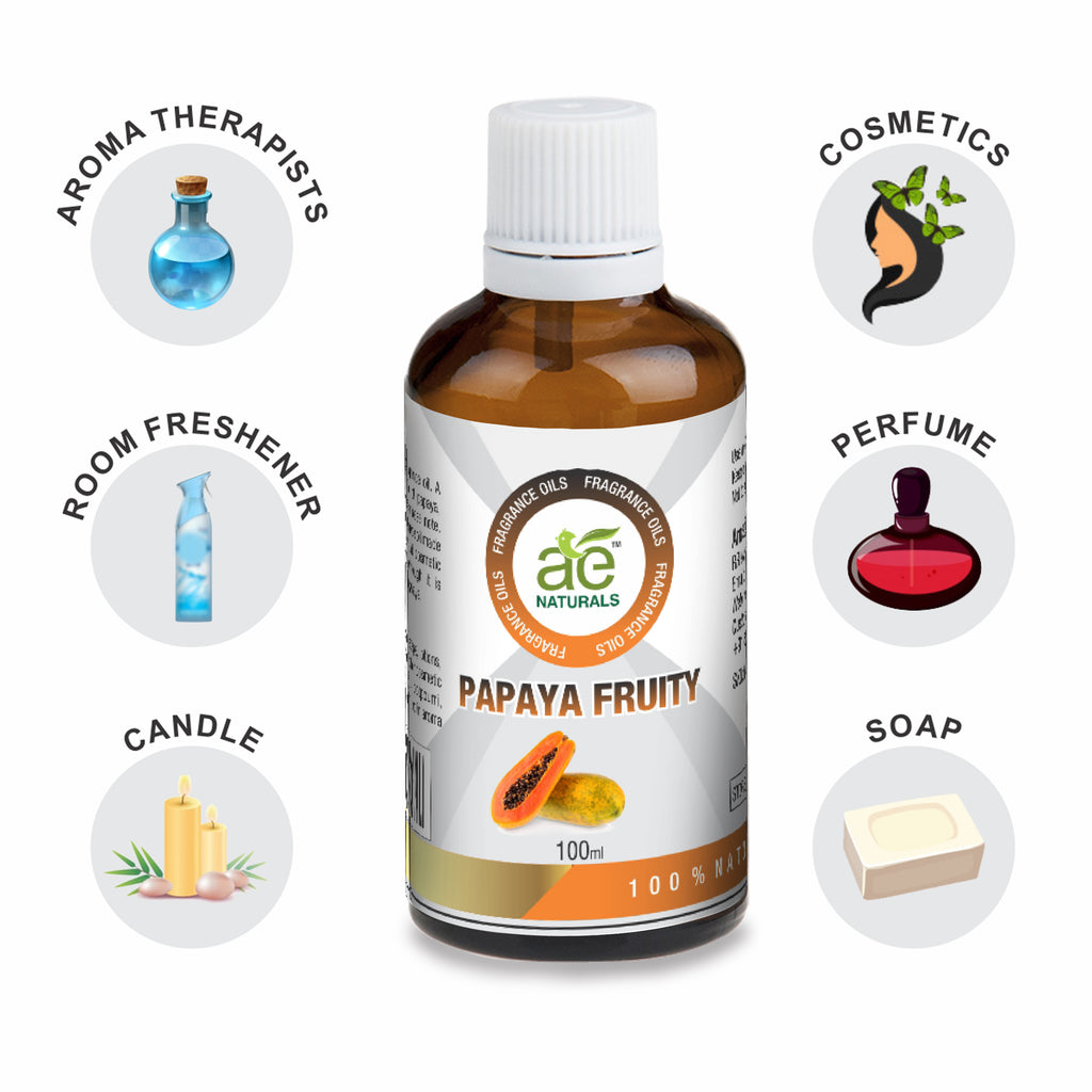 AE Naturals Papaya Fruity Fragrance Oil  100ml