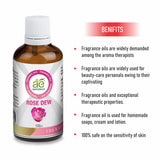 AE Naturals Rose Dew Fragrance Oil  100ml