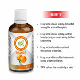 AE Naturals Orange Fragrance Oil  100ml