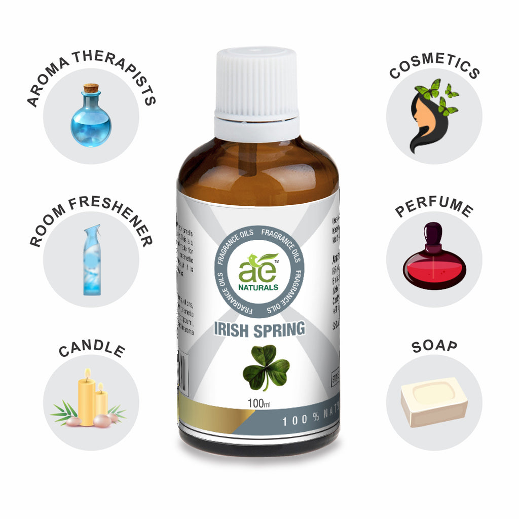 AE Naturals Irish Spring Fragrance Oil  100ml