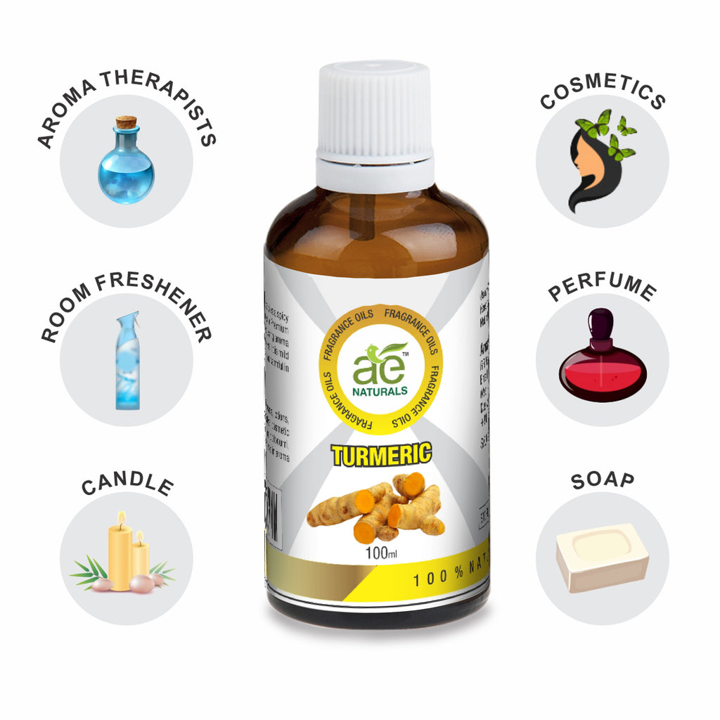 AE Naturals Turmeric Fragrance Oil  100ml
