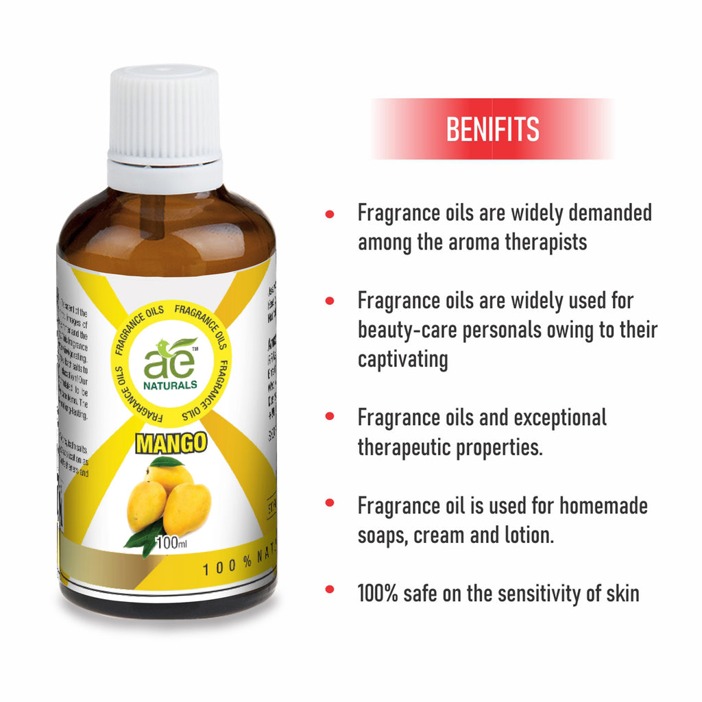 AE Naturals Mango Fragrance Oil  100ml