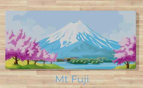 Mt. Fuji Desk Mat