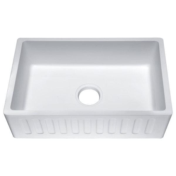 Farmhouse Sink Anzzi K-AZ225-1A ANZZI Roine 30 Reversible