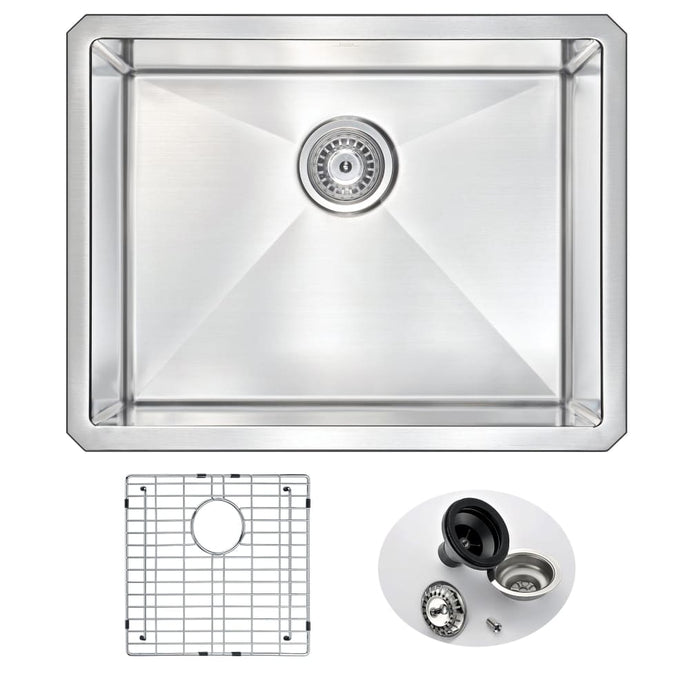 Farmhouse Sink Anzzi K-AZ2318-1A 23 in. Vanguard Undermount