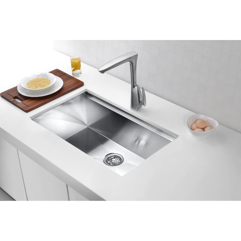 Farmhouse Sink Anzzi K-AZ3018-1Ac Aegis Undermount Stainless