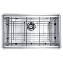 Load image into Gallery viewer, Farmhouse Sink Anzzi K-AZ3018-1Ac Aegis Undermount Stainless