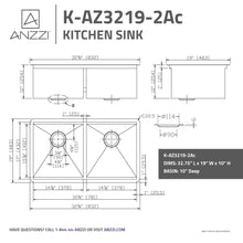Load image into Gallery viewer, Farmhouse Sink Anzzi K-AZ3219-2Ac ANZZI Aegis 32.75 in.