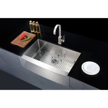 Load image into Gallery viewer, Farmhouse Sink Anzzi K-AZ3620-3AS ANZZI Elysian 36 Stainless