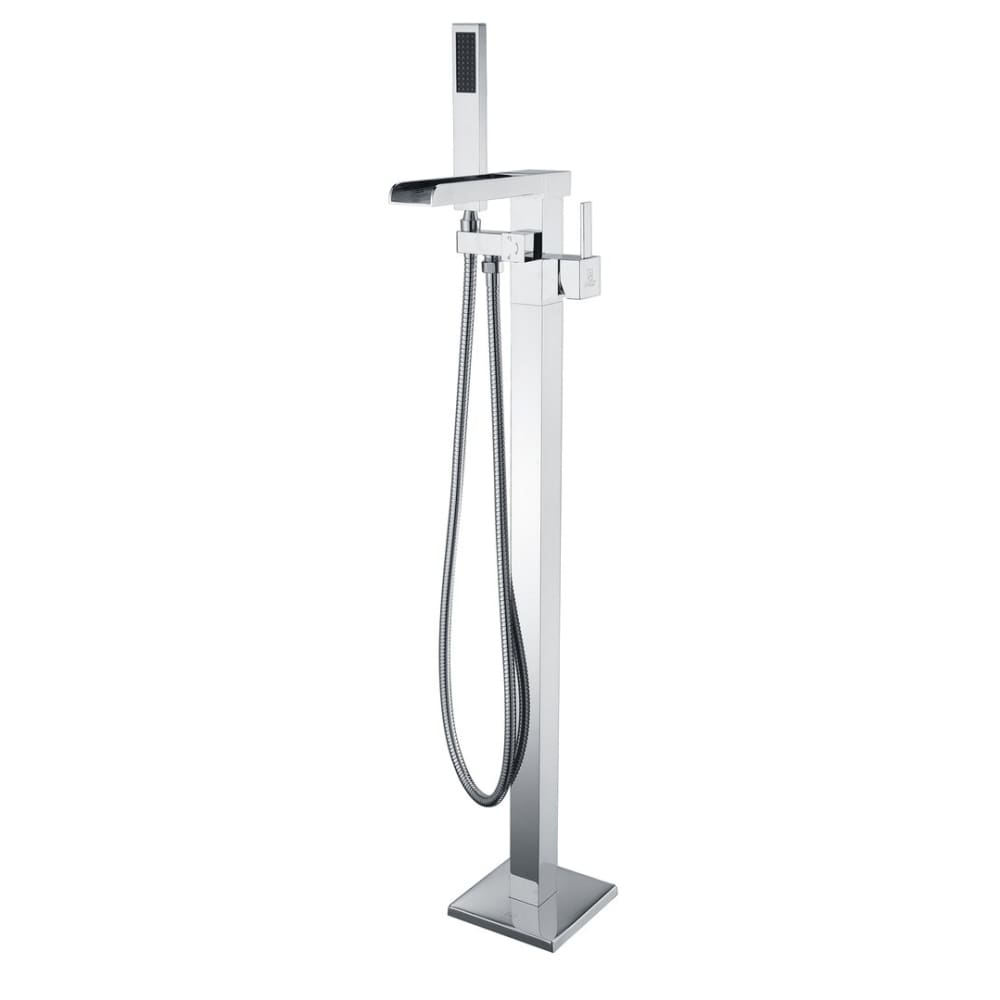 Anzzi FS-AZ0059CH Union 2-Handle Claw Foot Tub Faucet with Hand Shower in Polished Chrome