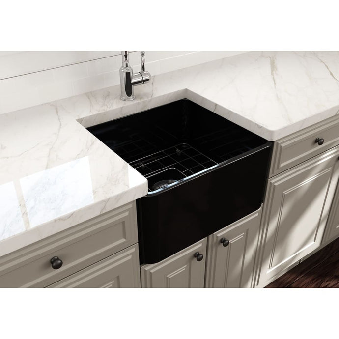 Farmhouse Sink Bocchi 1136-005-0120 20 Fireclay Apron