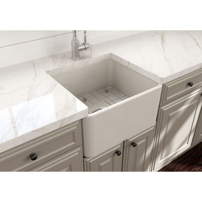 Farmhouse Sink Bocchi 1136-014-0120 20 Fireclay Apron