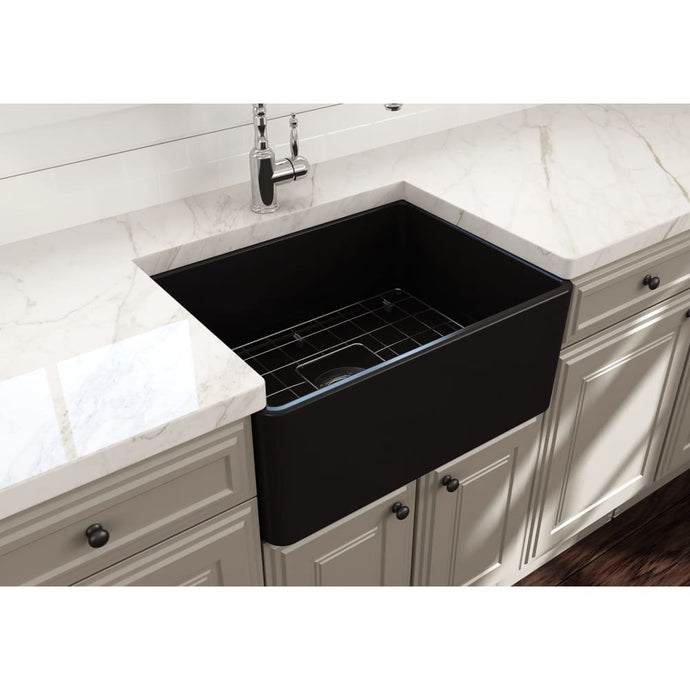 Farmhouse Sink Bocchi 1137-004-0120 24 Fireclay Apron