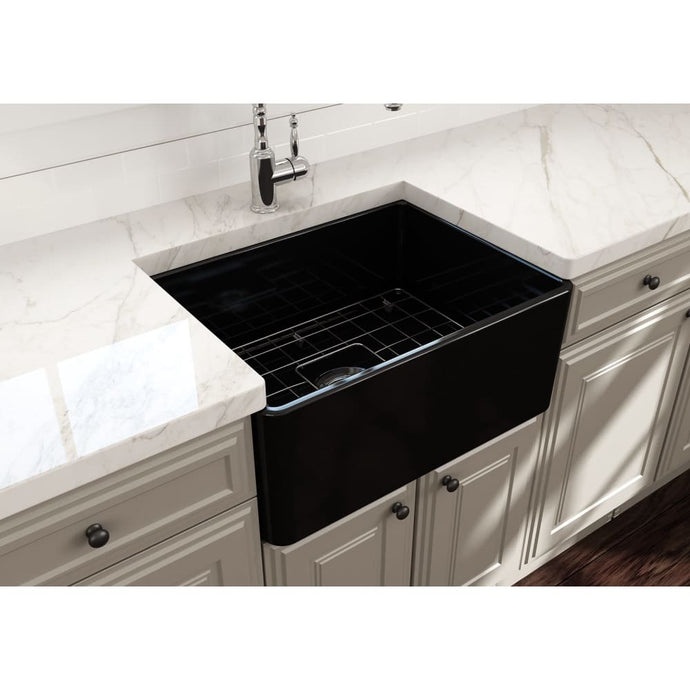 Farmhouse Sink Bocchi 1137-005-0120 24 Fireclay Apron