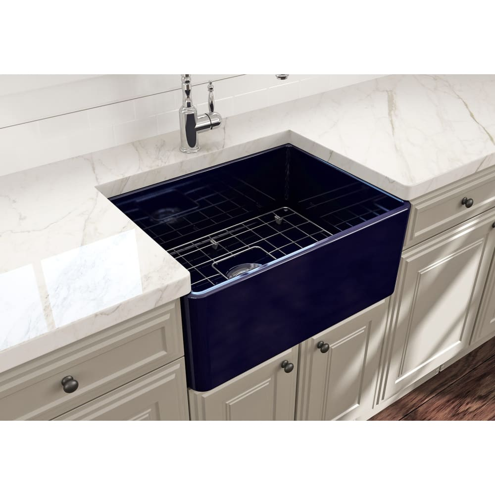 Farmhouse Sink Bocchi 1137-010-0120 24 Fireclay Apron