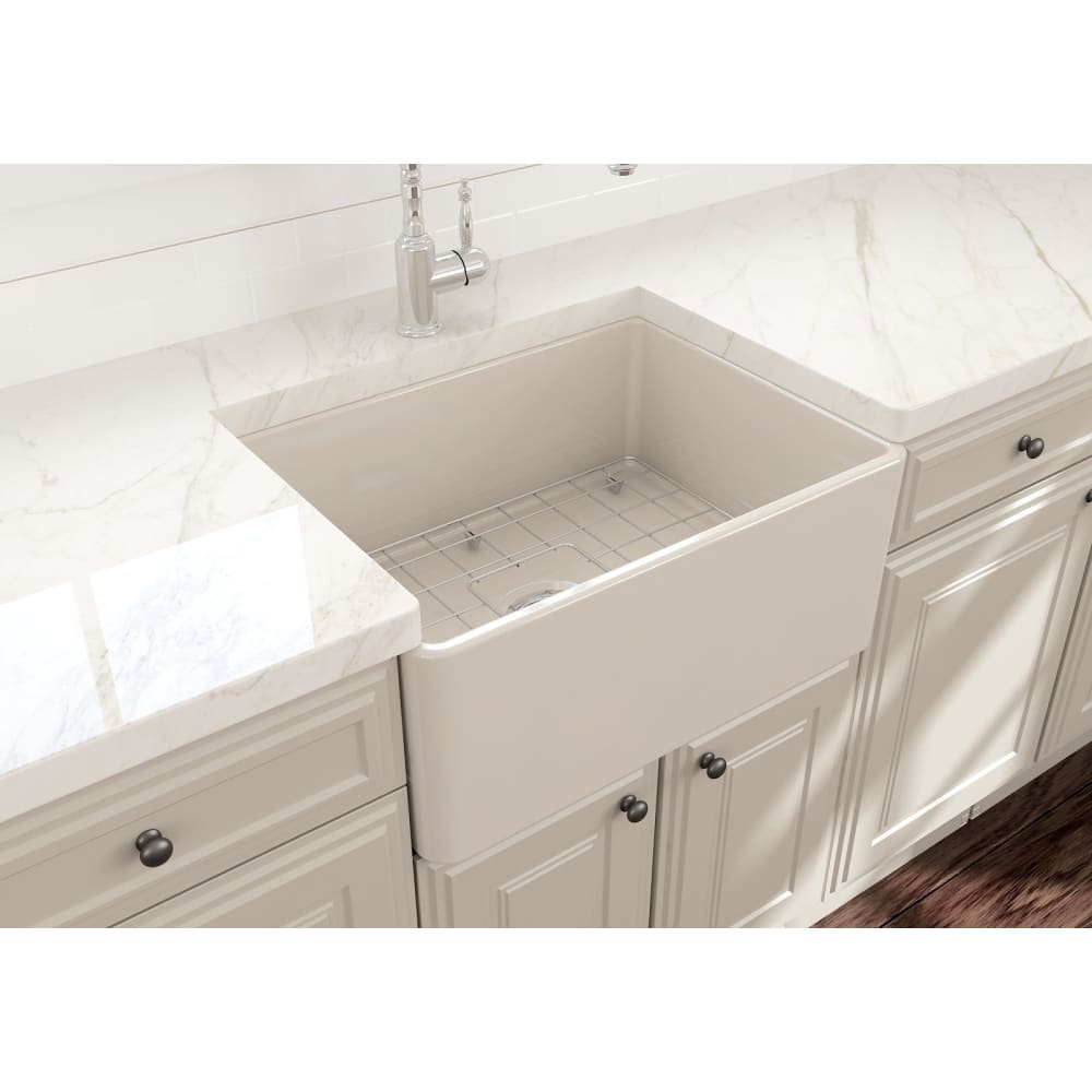 Farmhouse Sink Bocchi 1137-014-0120 24 Fireclay Apron