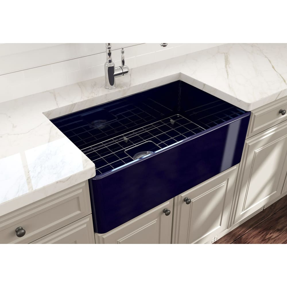 Farmhouse Sink Bocchi 1138-010-0120 30 Fireclay Apron