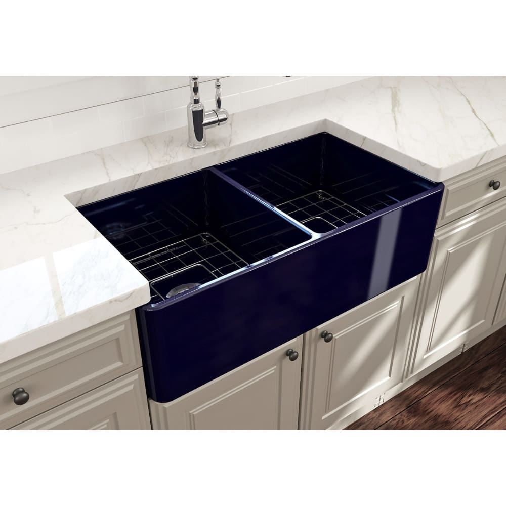 Farmhouse Sink Bocchi 1139-010-0120 33 Fireclay Apron