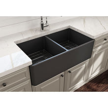 Load image into Gallery viewer, Farmhouse Sink Bocchi 1139-020-0120 33 Fireclay Apron