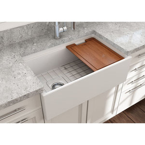 Farmhouse Sink Bocchi 1344-002-0120 30 Fireclay Apron