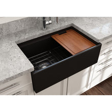 Load image into Gallery viewer, Farmhouse Sink Bocchi 1344-004-0120 30 Fireclay Apron