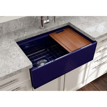 Load image into Gallery viewer, Farmhouse Sink Bocchi 1344-010-0120 30 Fireclay Apron