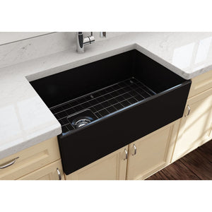 Farmhouse Sink Bocchi 1346-004-0120 30 Fireclay Apron